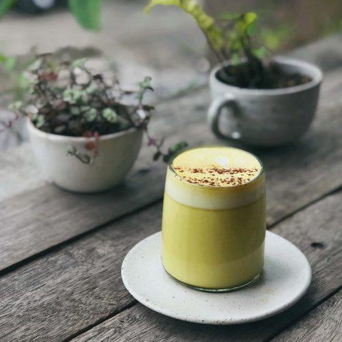 Tumeric Latte at Blackwood Coffee co.